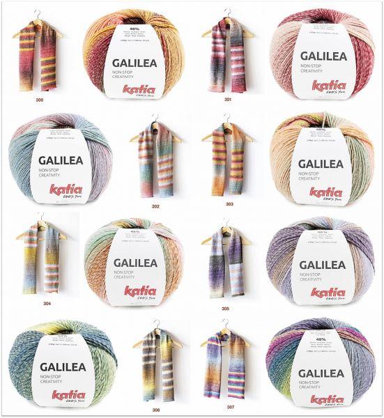 Katia Galilea, 150g Farbverlaufsgarn