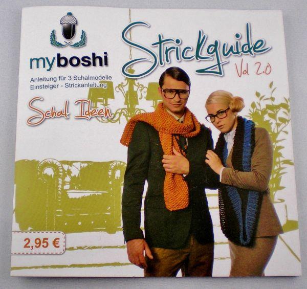 my boshi Strickguige Vol. 2.0 Schal Ideen