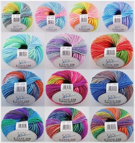 ONline Timona Design Color, 50g Farbverlaufsgarn
