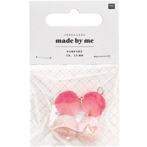 Rico Design Mini Pompons Rosa Mix (No. 7094.69.02 )