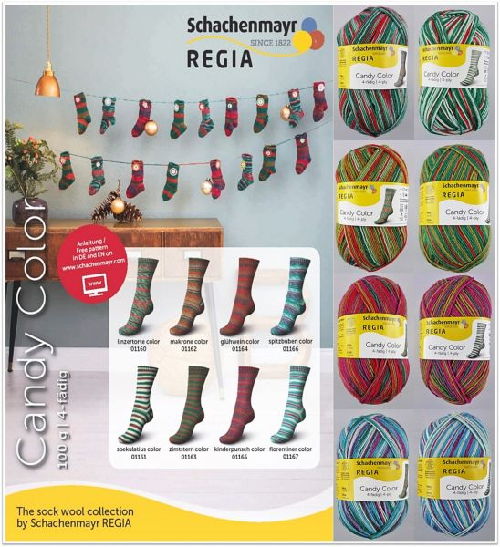 Regia Candy Color, 100g Sockenwolle 4-fach