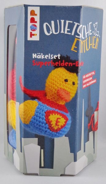 TOPP - Häkelset Superhelden Ente