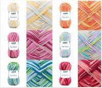Gründl Sambia, 50g Farbverlaufsgarn aus 100% Baumwolle
