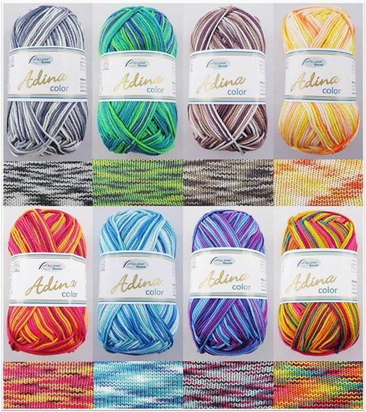 Rellana Adina Color, 50g Basicgarn Baumwolle