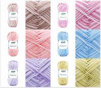 Gründl Adriana, 50g Farbverlaufsgarn aus 100% Baumwolle