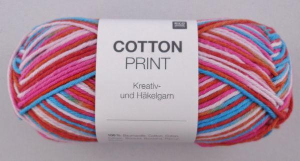 50g Rico Cotton Print Kreativ- & Häkelgarn