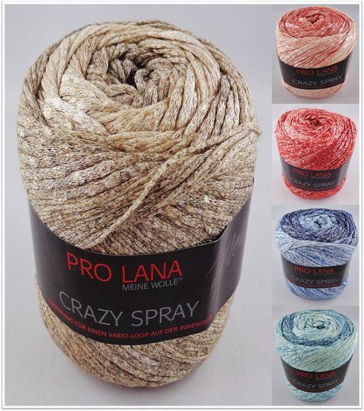 Pro Lana Crazy Spray, 150g Bändchengarn