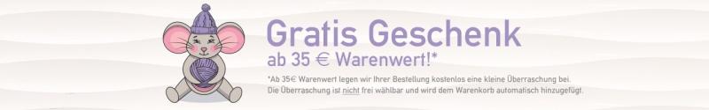 Gratis Geschenk ab 25,00 € Warenwert!