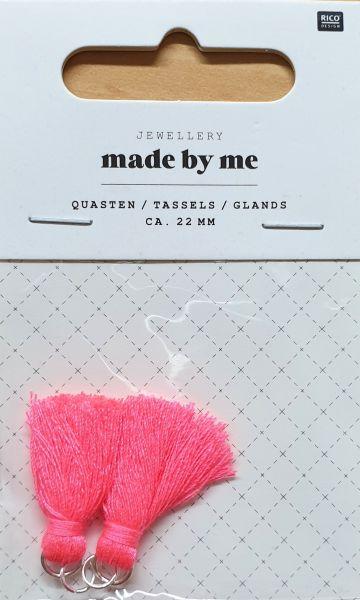 Rico Quasten Neon Pink (No. 7094.69.37)