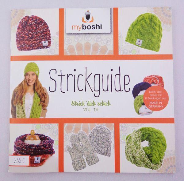my boshi Strickguide Vol. 19 Strick dich schick