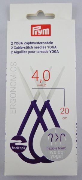 2x Prym Yoga Zopfmusternadeln Ø 4,0