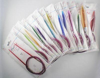 Knit Pro Trendz Rundstricknadeln 120cm Länge aus Acryl in verschiedenen Stärken